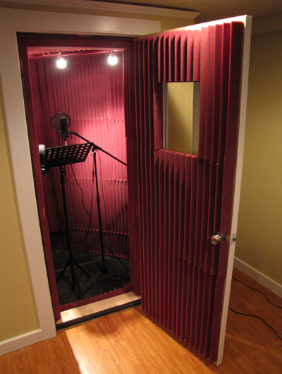 Vocal booth design plans home decoration live for How to soundproof my house