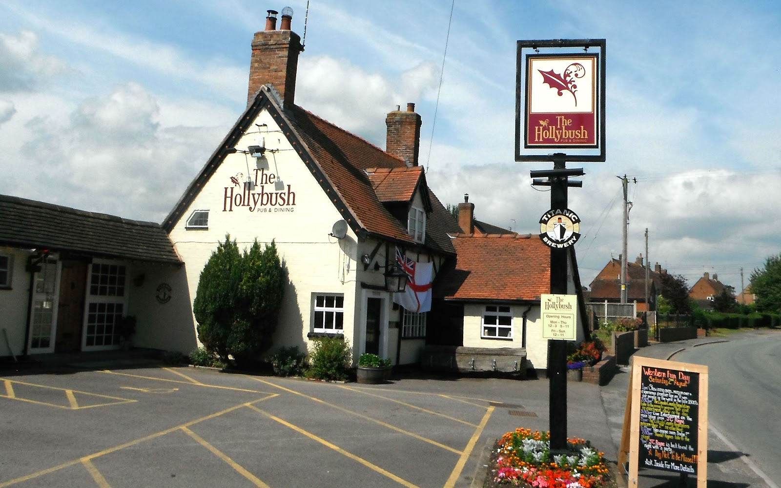 The Hollybush Pub at Seighford