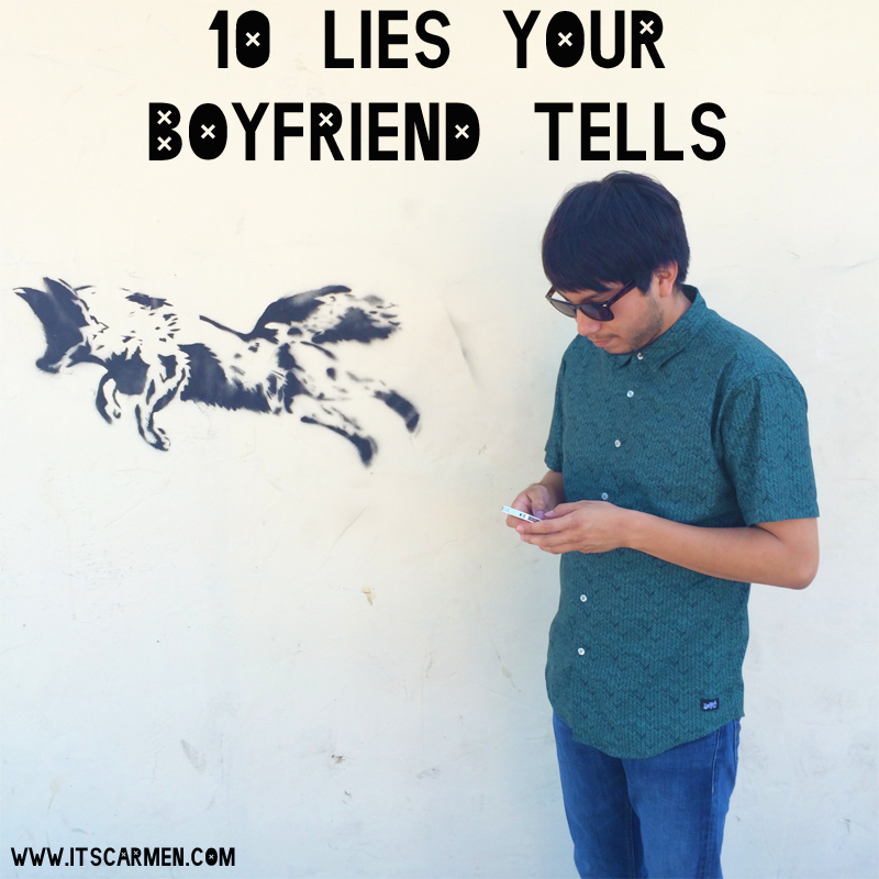 what if your boyfriend lies to you
