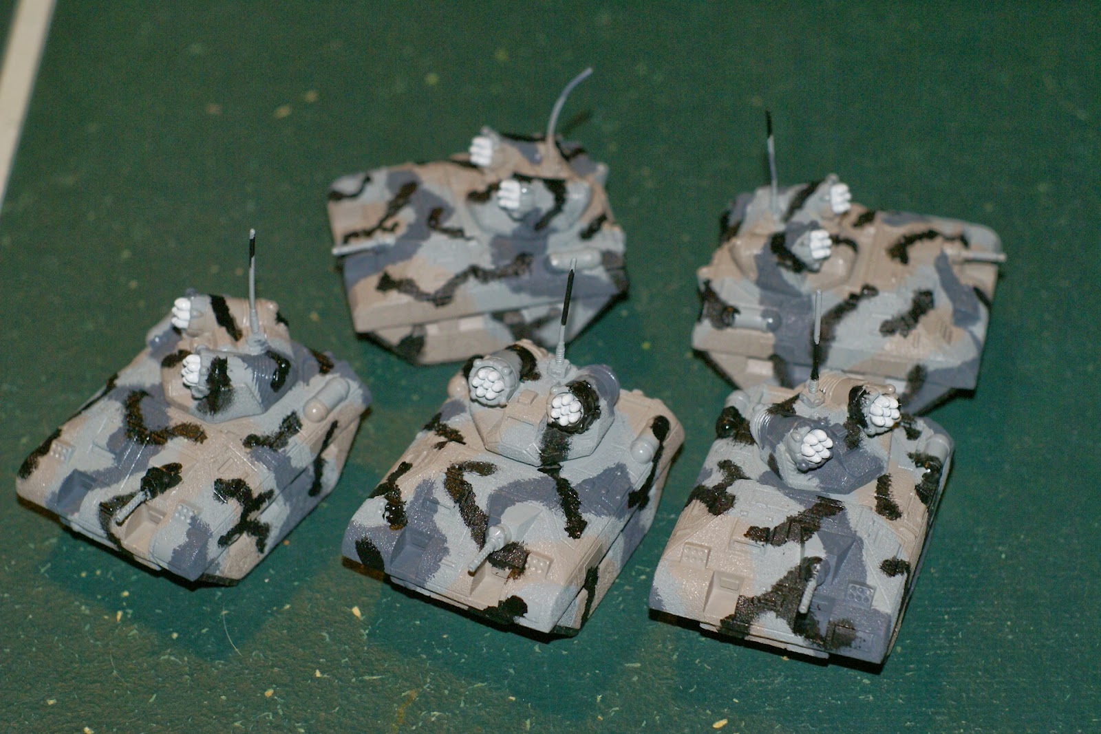 The Backyard Ogre Catapult Part - 15: Five Missile Tanks, All 100% Kryomek. You Can Buy These Things From Noble  Knight For About $15.00, Or Kryomek USA For $25.00. You Can Also Buy Bags  Of Guns, ...