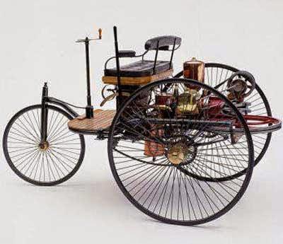 galeri gambar sepeda motor pertama di dunia
