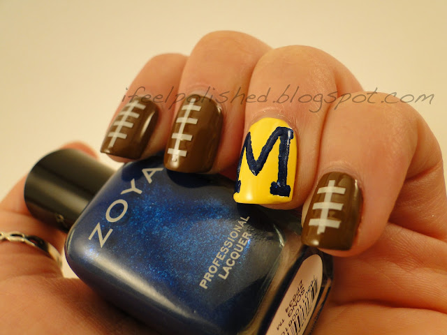 University of Michigan Nails