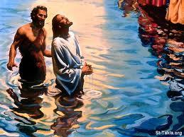 Yesus Dibabtis di Sungai Jordan