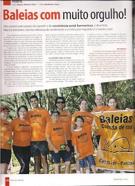 BALEIAS DE CASCAVEL ARREBENTANDO NA MÍDIA!