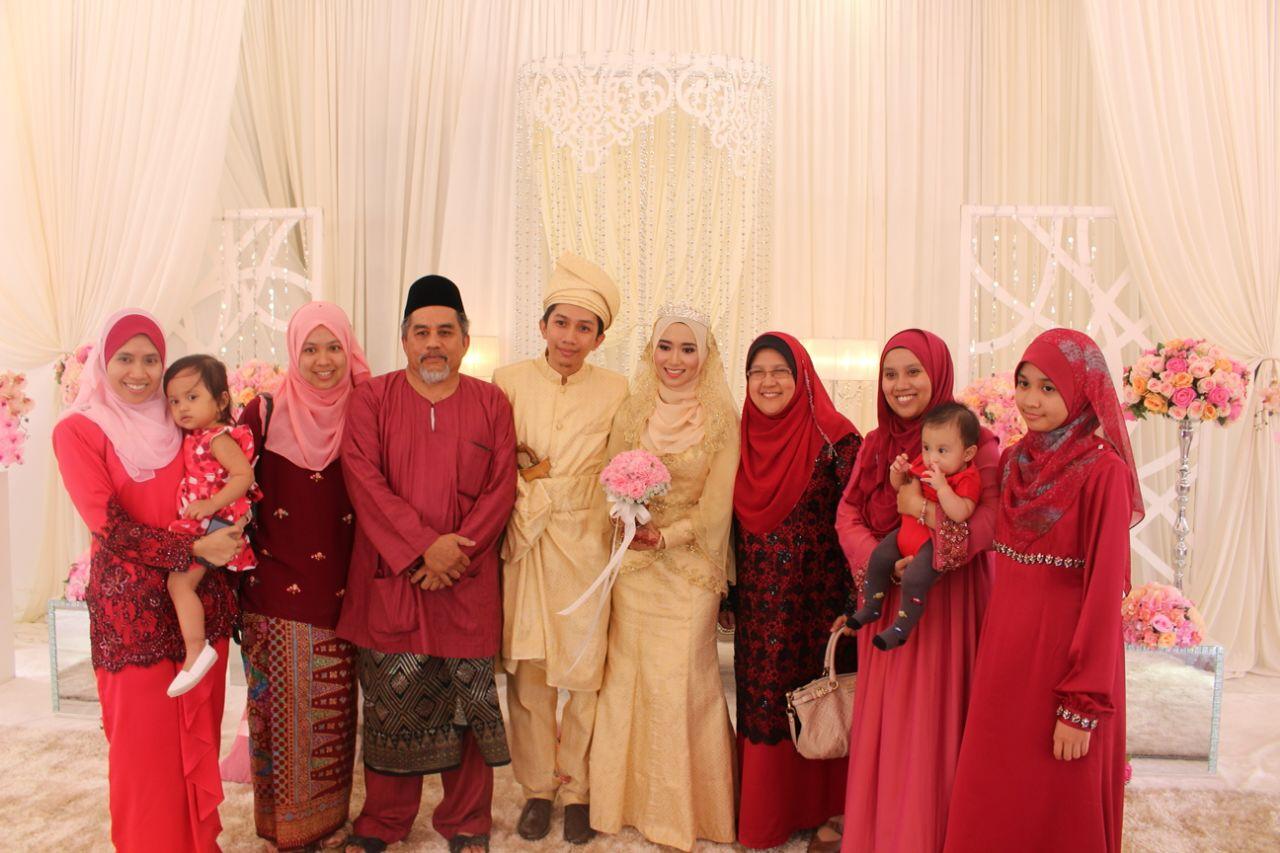 majlis perkahwinan Wan di Trengganu