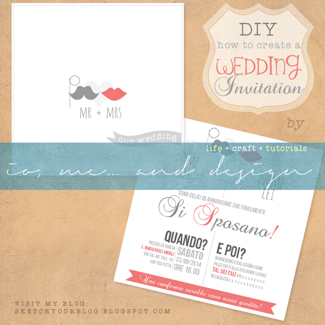 Tutorial: crea il tuo 'Wedding Invitation'