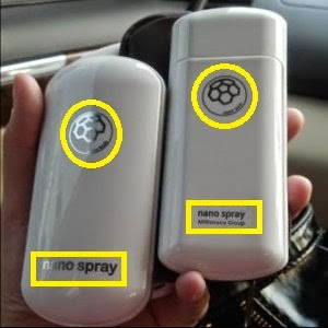 Membedakan Nano Spray Asli dan Palsu