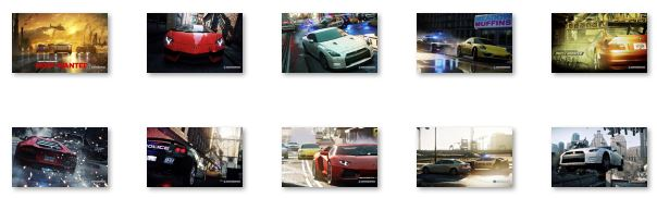 Need For Speed Most Wanted Windows 8 Theme