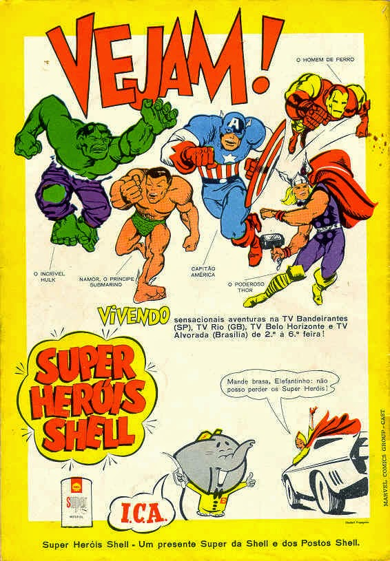MARVEL SUPER HERÓIS SHELL (MARVEL SUPER HEROES)