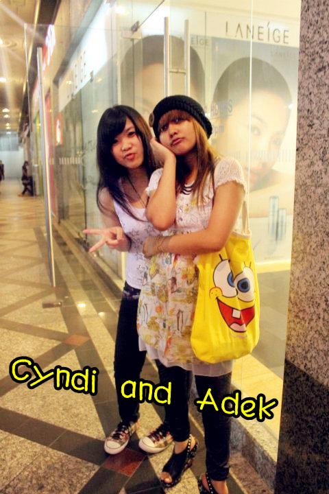 Cyndi & Adek