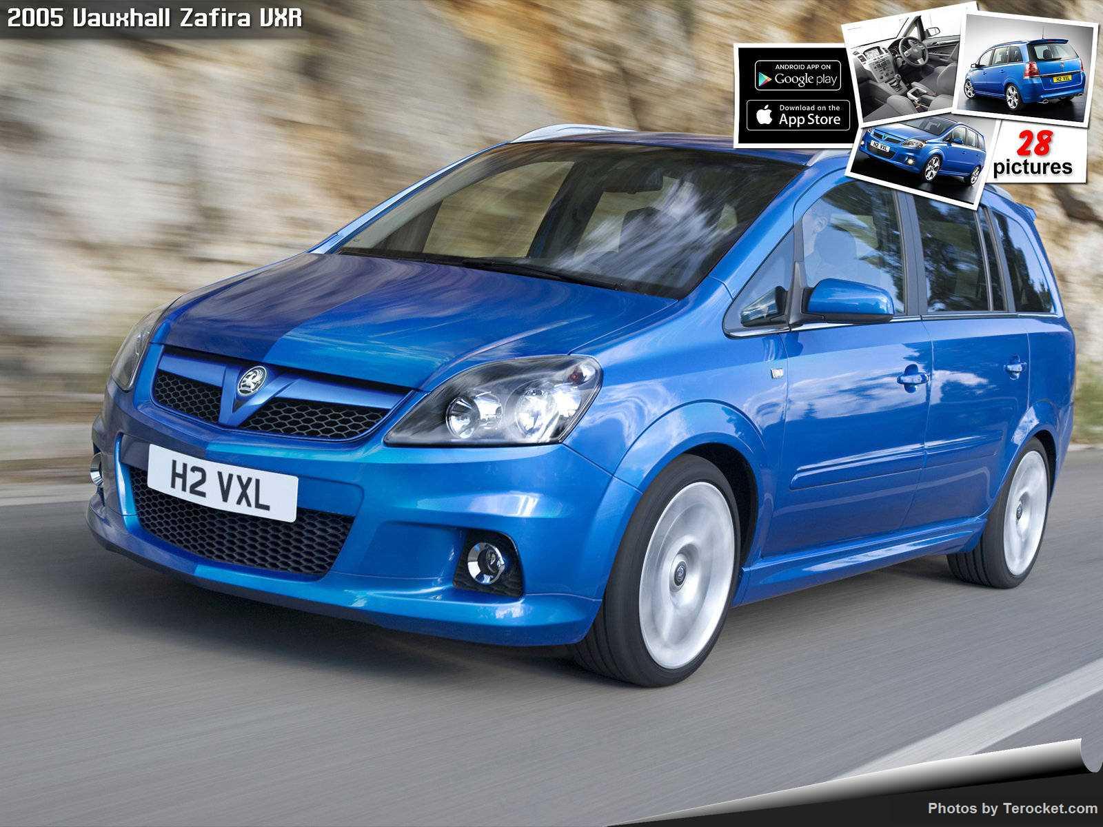 Hình ảnh xe ô tô Vauxhall Zafira VXR 2005 & nội ngoại thất