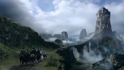 El nido de Águilas, hogar de la casa Arryn