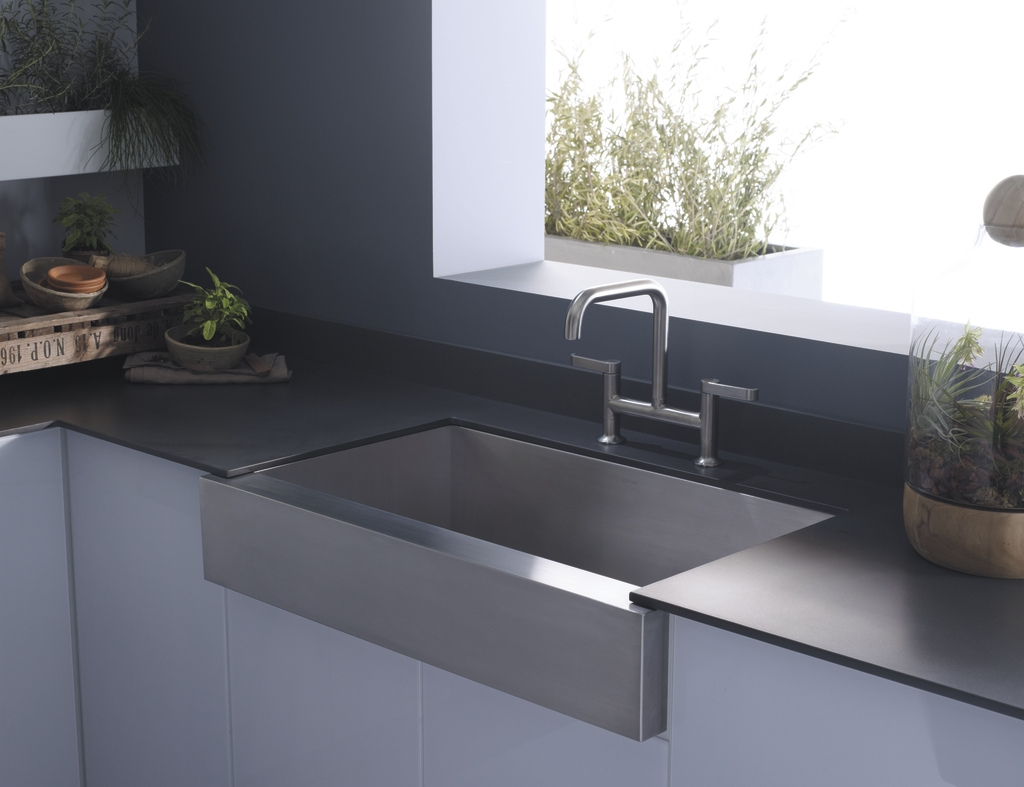 Kitchen Sinks With Drainboards Stainless
