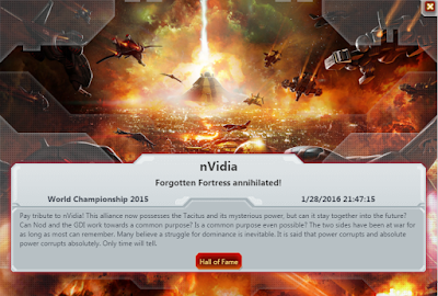 Command & Conquer: Tiberium Alliances World Championship 2015