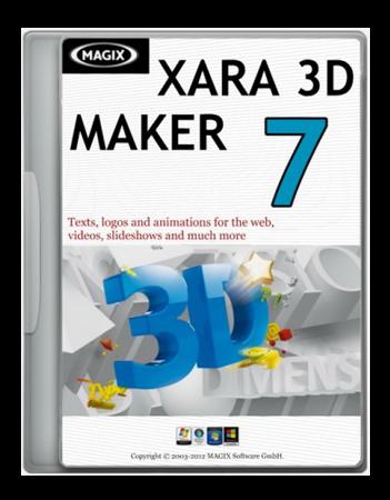 Xara 3d Maker 7 Portable