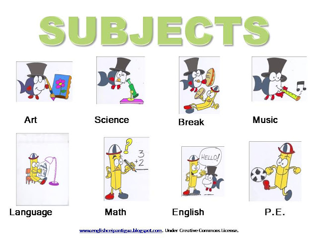 English college class subjects