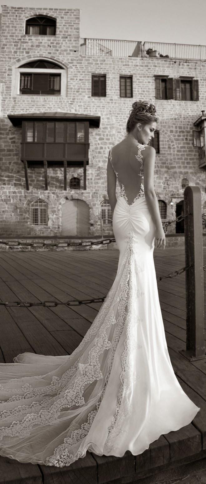 Galia lahav spring 2015 la dolce vita bridal collection for Wedding dress open back