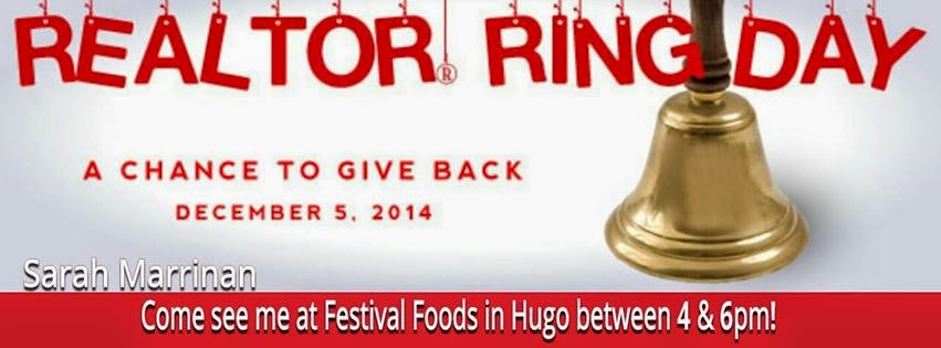 Salvation Army Realtor Ring Day 12/5/14