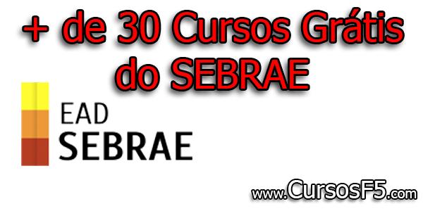 + de 30 Cursos Grátis do SEBRAE