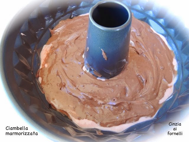 torta marmorizzata 3 colori