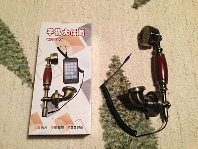 iPhone(アンドロイド)用レトロ受話器内容物