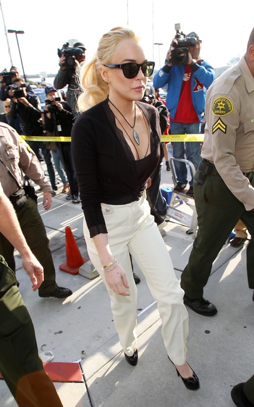 Jail Time Likely In Lindsay Lohan Theft Hearing!