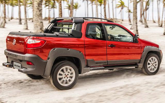Nova Fiat Strada Adventure 2014