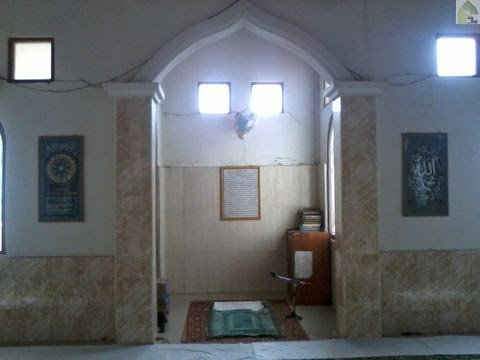 mihrab langgar syuhada