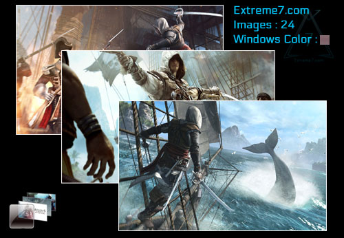 Assassin's Creed IV Black Flag Wallpapers and Theme for Windows 7 and Windows 8