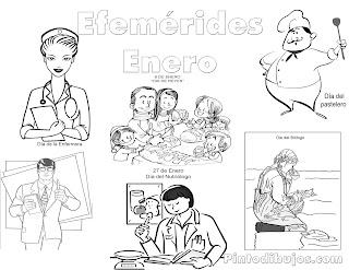 Efemérides de Enero