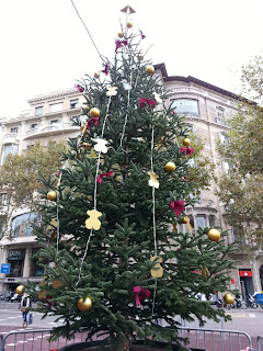 BarcelonaSights Blogf - Christmas Tree