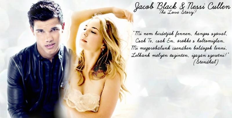 Nessi Cullen & Jacob Black Moonlight-Holdfény