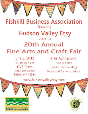 FBA presents, featuring Hudson Valley Etsy, the 20th Annual Fine Arts & Craft Fair
