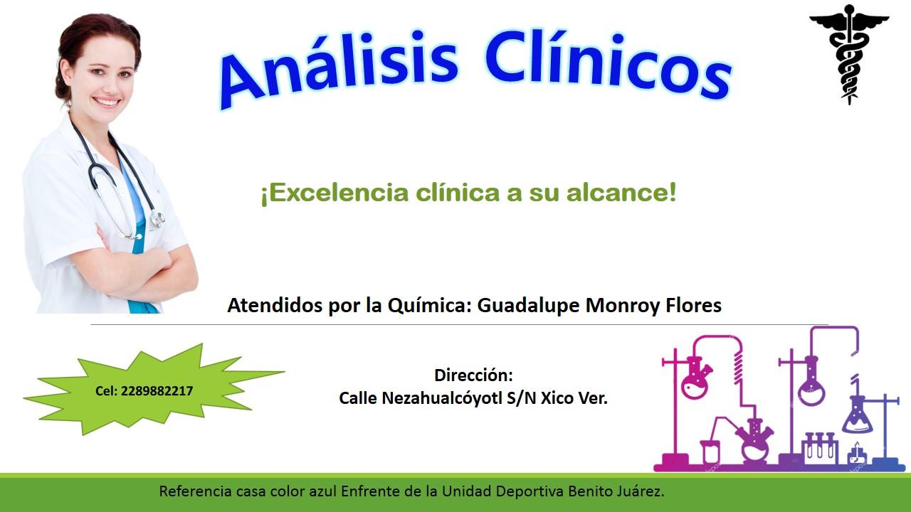 análisis clínicos Monrroy
