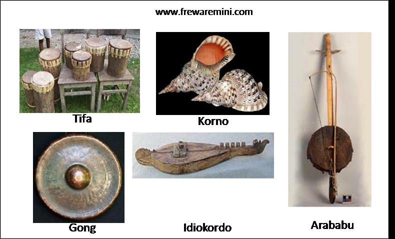 Alat musik tradisional Maluku [Ambon]