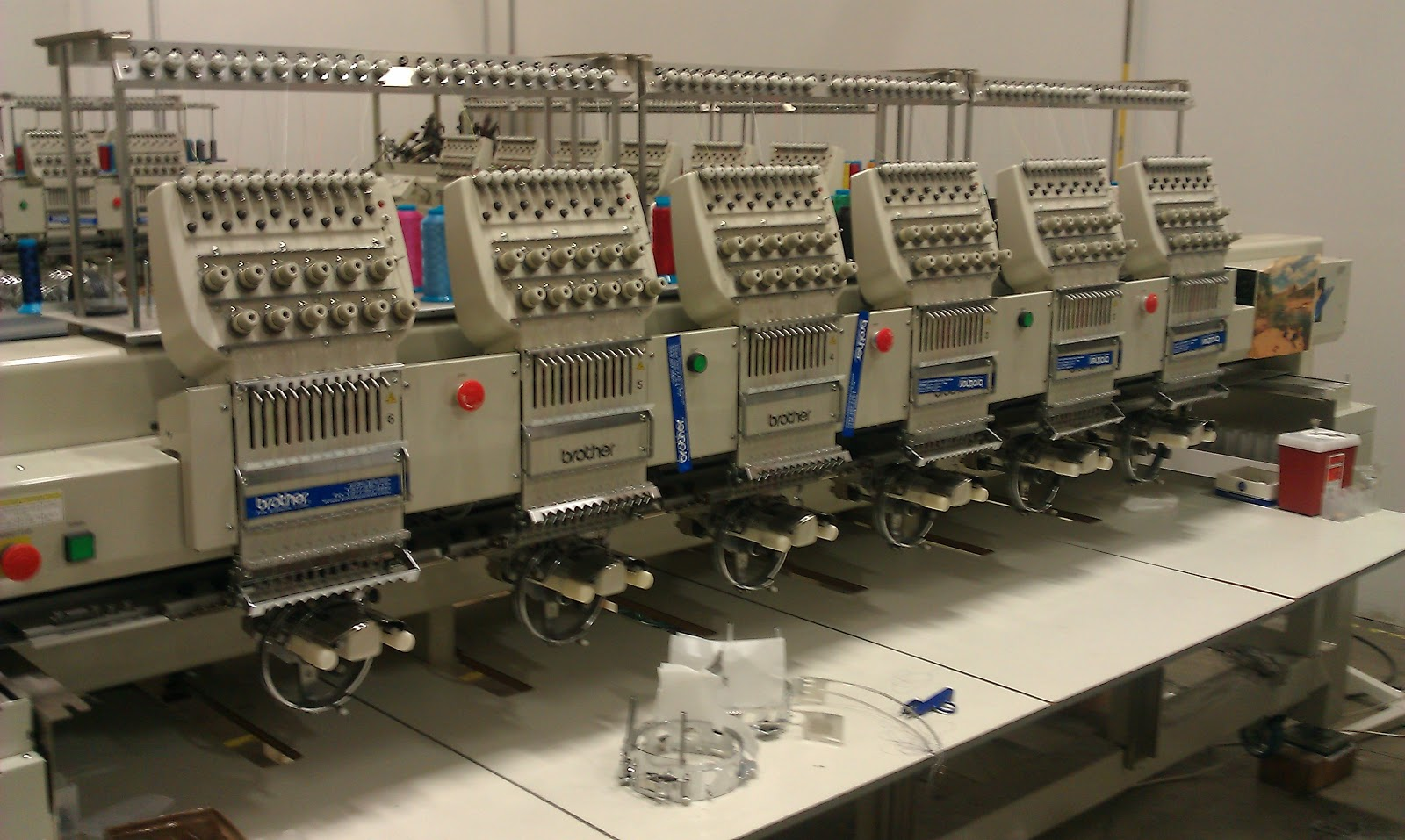 10 needle embroidery machine for sale