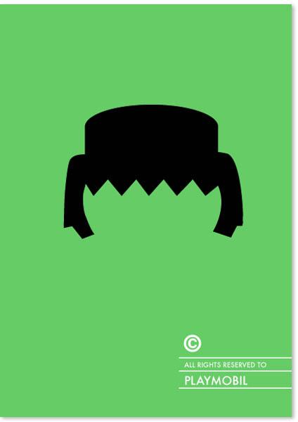Penteados com copyright - Playmobil