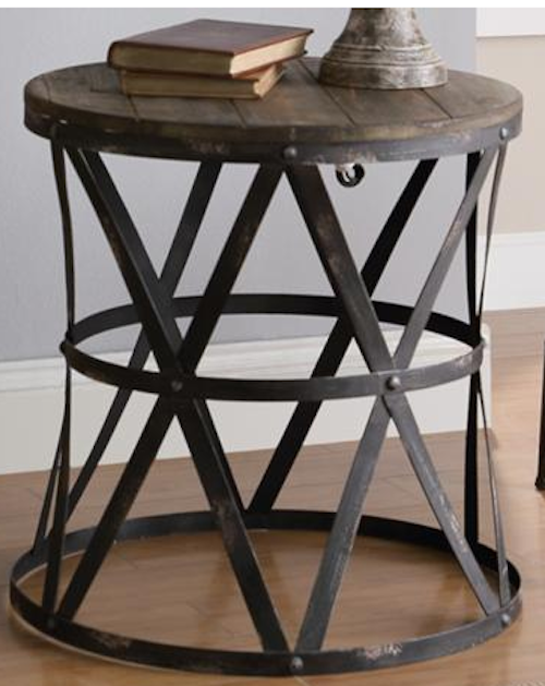 It 39 s a grandville life furniture from fixer upper for Black wood coffee table and end tables