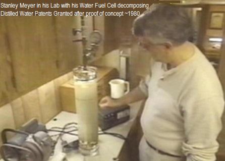 Stanley   Meyer Hydrogen Make free car fuel in his lab