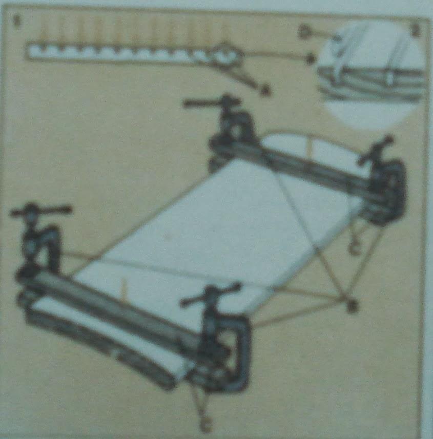 Cromamentales como reparar muebles 5 las tablas curvadas - Como arreglar puertas de madera rayadas ...