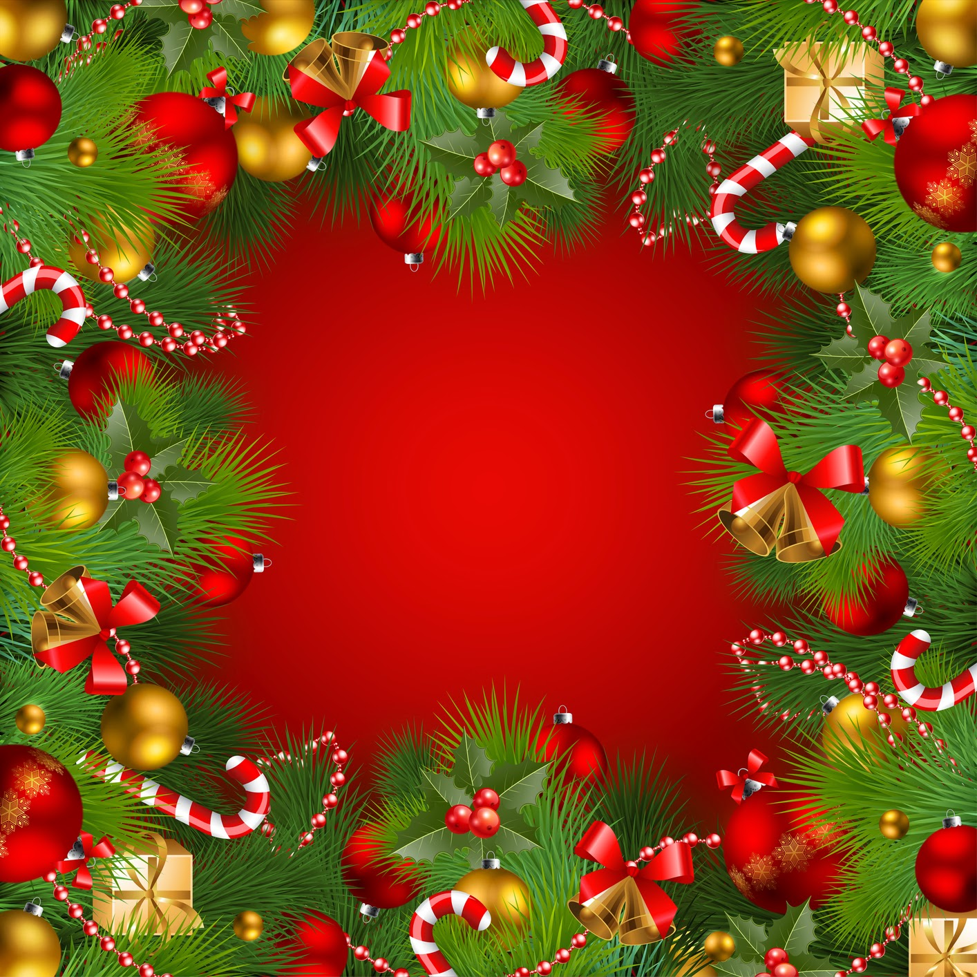 Rahmen weihnachten gold schriftrolle