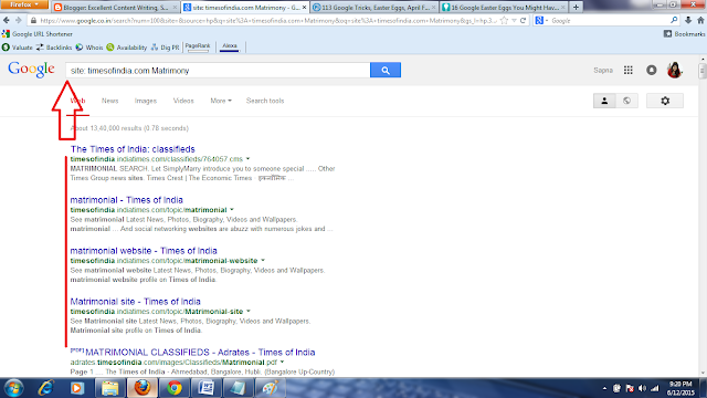 Google Search  Box Fun, Interest result of Google Serch result