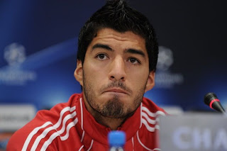 Luis Suarez of Liverpool.