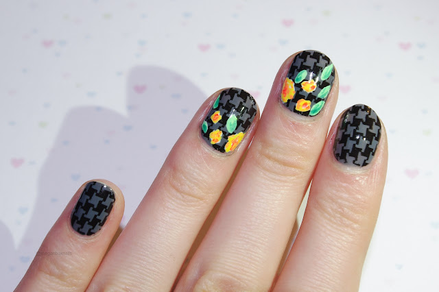 barry m gray flower nails image