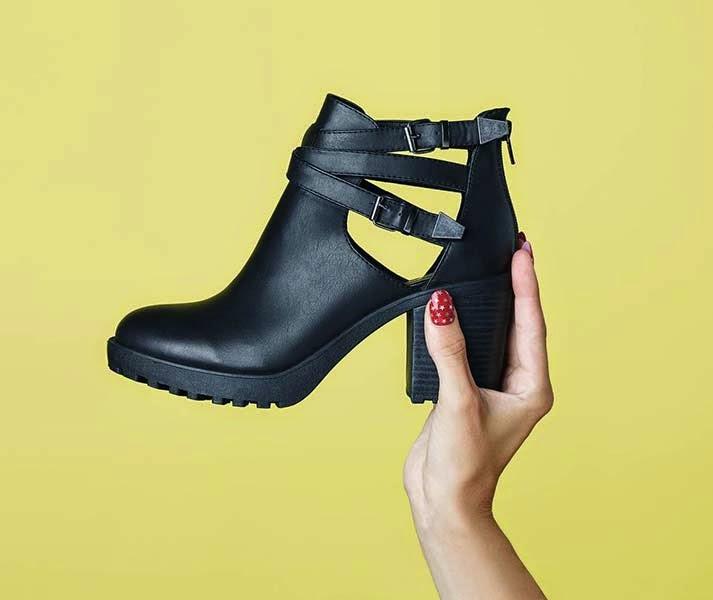 Primark zapatos: botas cut out
