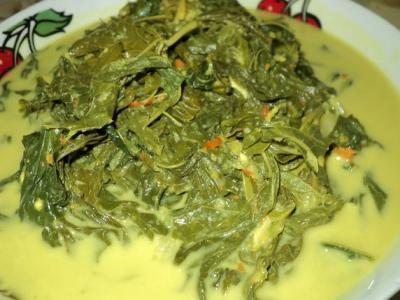 Sayur Daun Singkong