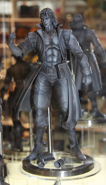 Square Enix Play Arts 2013 Toy Fair Display - Metal Gear Solid Liquid Snake figure