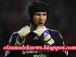 Petr Cech goal keeper of Chelsea