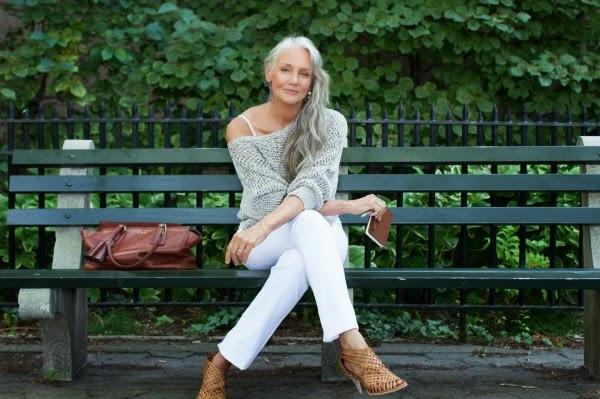 фото худых женщин в возрасте