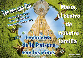 Encuentro de la Virgen de los Llanos con los niños